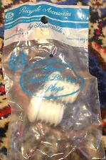 Hunt Wilde  Vintage Handlebar Plugs White