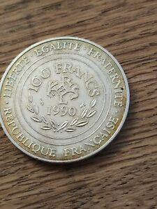 100 Francs Charlemagne argent 1990