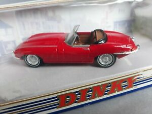 Matchbox DINKY Collection 1967 E Type JAGUAR 1/43 RED Diecast 3.5in Model