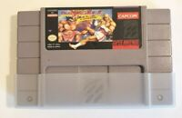 Street Fighter II: Turbo (Super Nintendo, 1993) Game Cartridge Only Tested