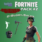 Fortnite Twitch Prime Pack #2 - PC PS4 XBOX One (READ DESCRIPTION)