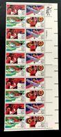 1983 US Airmail SC#C105-C108 Block + Zip Block of 10 MNH/OG