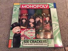 BNIB New 6 Monopoly Christmas Crackers & Mini Property Trading Board Game