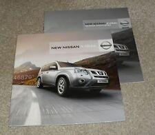 Nissan X-Trail Brochure Set 2010 - 2.0 TD Acenta & Tekna