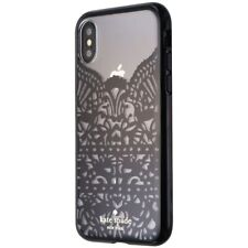 Kate Spade New York Lace Cage Series Case for iPhone X 10 - Black Lace