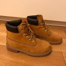 Timberland Boots Size 3 / 36 Wheat Brown Colour For women And Children