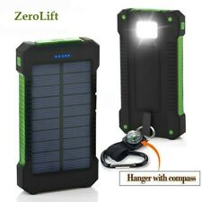 Solar Charger iPhone/Android Charger, Solar, for Camping/Power Outage