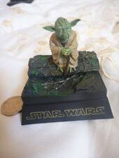 Star Wars Figure Toy - YODA DIORAMA (TOMY)  Excellent Condition!