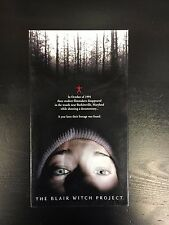 Blair Witch Project/Curse of the Blair Witch 2 VHS Set Horror Found Footage 1999