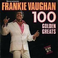 FRANKIE VAUGHAN 100 Golden Greats Vinyl Record LP Ronco RTDX 2024 1977 EX Orig.