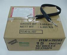 "15"" Heavy Duty Rubber Tarp Straps -Bungee-Tie Downs (50 in box)"