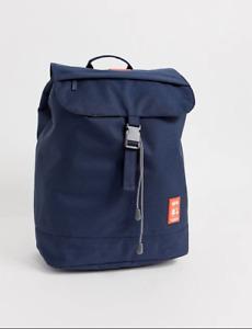 Lefrik Rucksack Backpack Scout Navy 19L Bag Recycled PET