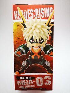 My Hero Academia Banpresto Figurine World Collection Héros Rising Bakugo Katsumi