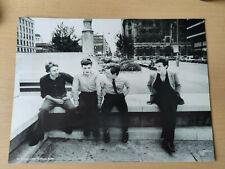 More details for joy division - black&white magazine poster / picture - ian curtis - rare/vintage