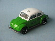 Matchbox Volkswagon VW Beetle Mexico Taxi in BP Green and White 70mm Toy Model
