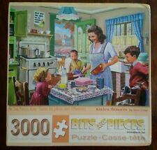 "Bits And Pieces 3000 Piece Jigsaw Puzzle ""Kitchen Memories"" by Steve Crisp"
