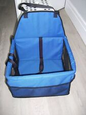 Dog / cat booster deluxe car travel carrier.