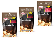 Morlife Dark Chocolate Macadamias 125g x 3 | Healthy Snack | Gluten Free