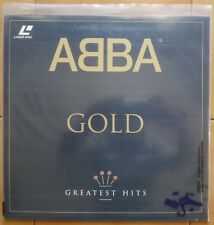 Laser disc ABBA  GOLD  greatest hits 1992 Plygram video PY714