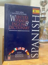 The New International Webster's Spanish & English Dictionary, Hardcover Rev 1997