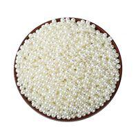 Lot 50 Perle imitation 5mm Blanc Cassé Pour vos creation Bijoux Collier Bracelet