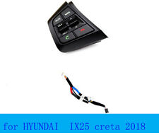 2PC for Hyundai creta ix25 steering wheel button on left cable only music switch