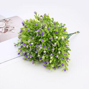 Flower Plant Grass Green Party Artificial Milan Bouquet Flowers Wedding Plastic