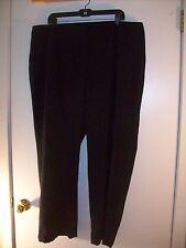 Laura Ashley Woman 20w  elastic in waist (HEMMED 28.25 short) black dress  pants