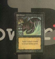 1 Dark Ritual - Beta MtG Magic Black Common old school 93/94 #8235