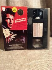 VHS~ BREATHLESS ~ Richard Gere RARE CASE 1983 ~Orion