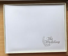 Wedding Photograph Album (in box) - Vintage 1980's White Padded - Unused
