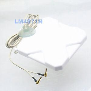 Broadband Antenna 35dB 3G 4G LTE MS156 Booster Signal Amplifier Cable External