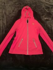 Abercrombie And Fitch Hot Pink Zip Up Jacket Medium Women