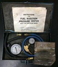 Fuel Injection Pressure Tester With Two Gages