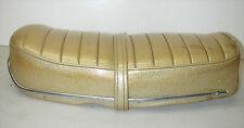 Vintage Vespa Gold Motorcycle Dual Seat