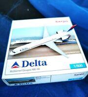 herpa delta Douglas MD-90 1:500 nr 507776 in ovp sammlg selten!