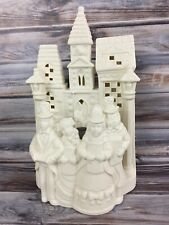 Partylite Tealight Candle Holder Christmas Village Carolers White Po204 P0204