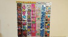 Joblot of 120pc Party Banner Happy Birthday Banner Multi Colours 1.80cm 41p each