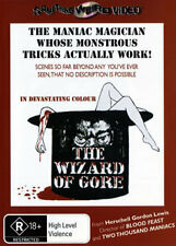 THE WIZARD OF GORE (SOMETHING WEIRD VIDEO) - CRAZY MAGICIAN SLAUGHTER HORROR DVD