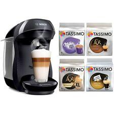 Machine à Café BOSCH Tassimo Happy Cafetière à Dosette + 4 Paquets De 56 T-Discs