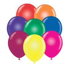 "17"" Tuf-Tex Crystal Color Assortment Latex Balloons (50 Ct)"