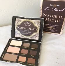 Too Faced Natural Matte Eye Neutral Eyeshadow Palette  NIB 100% Authentic