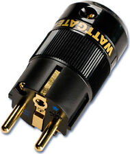 Wattgate 390i Audio Grade Power Plug (color - black) Schuko