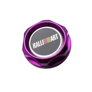 1Pcs Purple Ralliart Auto Oil Drain Plug Metal Alloy Engine Modified Filler Caps