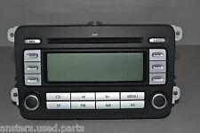 #012 VOLKSWAGEN GOLF MK5 (FITS PASSAT B6) HEAD UNIT RADIO CD PLAYER 1K0035186AD