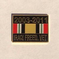 Iraq War, Operation Iraqi Freedom Hat or Lapel Pin, Iraqi Freedom Veteran pin
