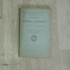 Catalogue de livres. Bibliothèque de feu Henri Chasles. 1ère partie.Leclerc.1908