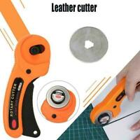 Rotary Cutter with 45mm Blades Sewing Quilters Fabric Hot Leather Cutting C G2Z0