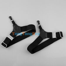 2pcs Elastic Mens Sock Suspenders Garter Hold Up Braces Clip Grip Adjustable