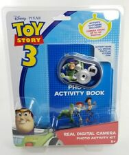 Toy Story 3 Buzz Lightyear Real Digital Camera with Activity Book NEW